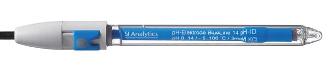 SI Analytics®  pH Combination Electrode with Sensor Recognition BlueLine 14 pH ID